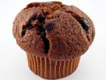 tät muffin för choklad upp Fotografering för Bildbyråer