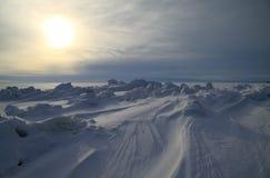 tät nordpolen till Arkivbilder