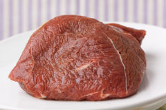 tät ny meat för nötkött som skjutas upp Royaltyfria Bilder