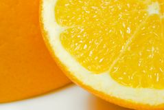 tät orange 4 upp Royaltyfria Foton