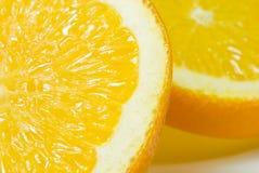 tät orange 6 upp Arkivfoton