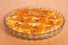 tät pie för äpple upp Royaltyfri Bild