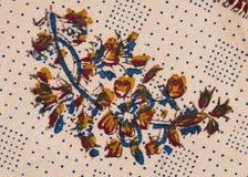 tät prydnad persiskt qalamkar s upp Royaltyfri Bild