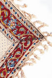 tät prydnad persiskt qalamkar s upp Arkivbild