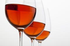 tät red upp wine Arkivfoto