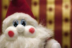 tät rolig santa toy upp Royaltyfri Bild