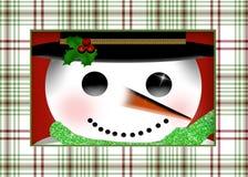 tät snowman upp Arkivfoton