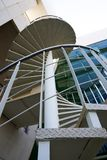 tät spiral trappuppgång upp Royaltyfri Fotografi
