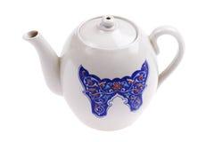 tät teacup för tom set upp Royaltyfri Bild