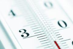tät termometer upp Arkivbild