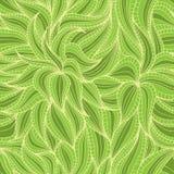 Tät vegetationmodell royaltyfri illustrationer