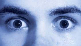 täta ögon arkivfoton