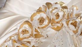 täta detaljer klär upp siktsbröllop Arkivfoton