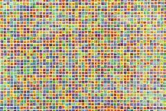 täta färgrika tegelplattor för bakgrund upp Royaltyfri Foto