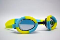täta goggles för black upp Arkivbild