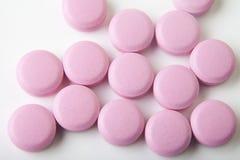 täta medicinska pills upp Royaltyfri Bild