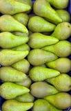 täta pears för bakgrund upp Arkivfoton