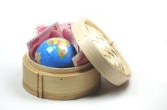 Tätigen des Geschäfts in China Stockbild