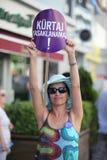 Tätigkeit gegen Anti-abortiongesetz lizenzfreie stockfotografie