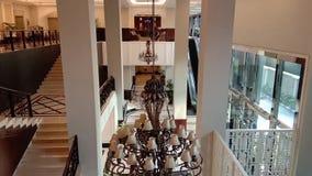Tätigkeiten im königlichen Kuningan-Hotel Jakarta, Indonesien stock video footage