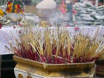 Tätowierung-Festival am Wat Knall Phra in Nakhon Chaisi, stockbild
