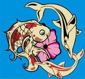 Tätowierungfische stock abbildung