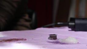 Tätowierungsmaschine stock footage
