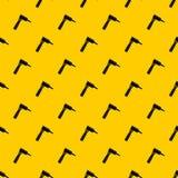 TÄTOWIERUNGSmaschinen-Mustervektor des Handabgehobenen betrages Dreh lizenzfreie abbildung