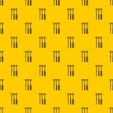 Tätowierungsnadel-Mustervektor lizenzfreie abbildung