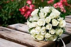 tätt övre bröllop för bukett Fotografering för Bildbyråer