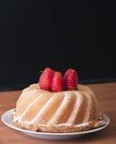 tätt övre för cake Royaltyfria Foton