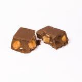 tätt övre för choklad Arkivbild