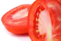 Tätt övre för tomat. Arkivbilder
