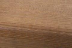 tätt övre trä för bambu Arkivfoto