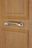 tätt dörrhandtag som skjutas upp Royaltyfri Fotografi