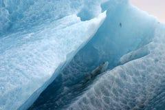 tätt isberg upp arkivbild