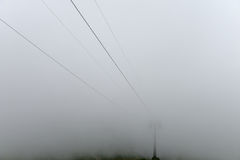 Tätt skyla av dimma Royaltyfria Bilder