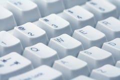 tätt tangentbord upp arkivbild