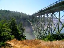 Täuschung-Durchlauf-Brücke Lizenzfreie Stockfotos