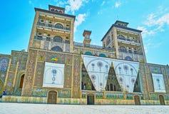 Täuschungen-ol-Emareh, Golestan-Palast, Teheran Stockfoto