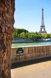 Tävla avenyn de New York i den Paris staden Arkivfoton