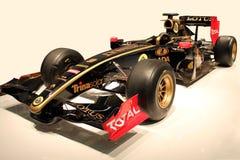 Tävlings- bil för lotusblommaformel 1 Arkivfoto
