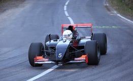 Tävlings- bil F1 Arkivfoto