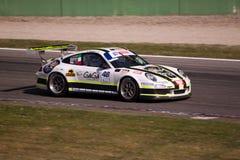 Tävlings- bil i samla av Monza Arkivfoton