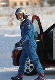 Tävlings- chaufför Firdaus Kabirov Royaltyfria Foton