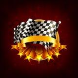 tävlings- emblem Arkivbilder