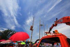 Tävlings- festival för buffel Fotografering för Bildbyråer