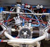 tävlings- friktionsmotor Arkivfoton