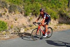Tävlings- La Vuelta España för cirkulering arkivfoto