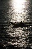 tävlings- motorboat royaltyfri bild